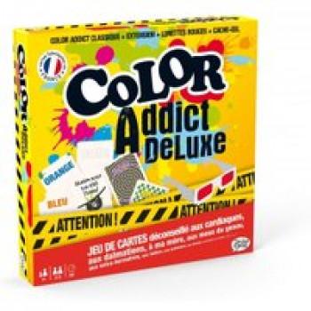 Color Addict Deluxe Les Jouets Français Ce jeu de carte un peu fou va vous en faire voir de toutes les couleurs