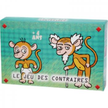 Le jeu des contraires Les Jouets Français Distribuez toutes les cartes. Â tour de rôle
