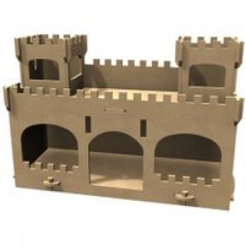 Château à monter et à décorer Les Jouets Français Château fort à décorer