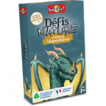 Défis Nature - Créatures légendaires Les Jouets Français Jeu de batailles avec différentes créatures imaginaires