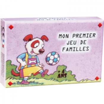 Mon premier jeu de familles Les Jouets Français 4 personnages par famille : Le papa