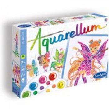 Aquarellum Junior Nymphes Les Jouets Français Découvrir l'art et la couleur avec 4 tableaux magiques
