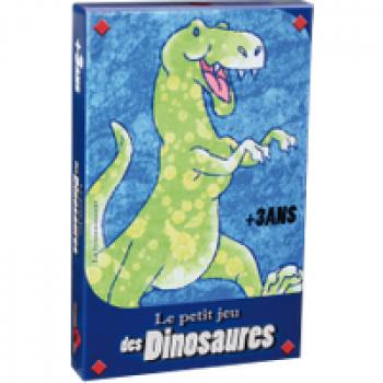 Le petit jeu des dinosaures Les Jouets Français 9 dinosaures différents vont devoir se reconstituer. Celui qui tire la première carte d'une saynète peut l'entamer. Celui qui en à reformé le plus gagne la partie.