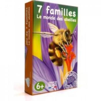 7 familles le monde des abeilles Les Jouets Français Apprenez-en plus sur les abeilles grâce à ce jeu des 7 familles.
