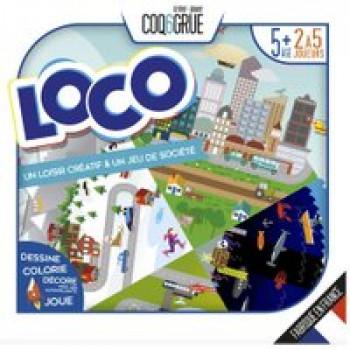 LOCO Les Jouets Français Personnalise ton jeu et amuse toi en famille ou entre amis