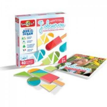 Collection Montessori - J'observe Les Jouets Français Jeu de pédagogie positive autour du sens de la vue