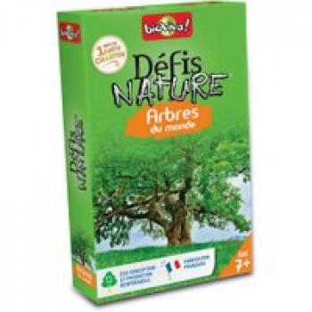 Défis Nature - Arbres du monde Les Jouets Français Jeu de bataille sur le thème des arbres du monde
