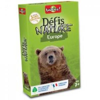 Défis nature - Europe Les Jouets Français Jeu de bataille sur le thème des animaux d'Europe