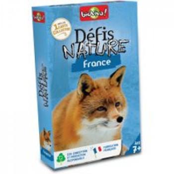 Défis Nature - France Les Jouets Français Jeu de bataille sur le thème des animaux de France