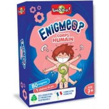 Enigmes - Corps Humain Les Jouets Français Jeu d'énigmes à la découverte du corps humain
