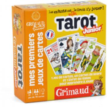 Grimaud junior Tarot ! Les Jouets Français Jeu de cartes pour apprendre à jouer au Tarot !