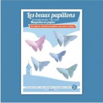 Les beaux papillons Les Jouets Français Une superbe collection de papillons sous cadre à réaliser