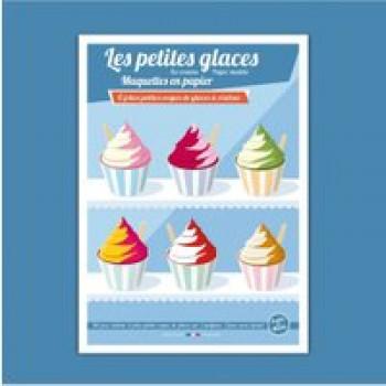 Les petites glaces Les Jouets Français 6 jolies petites coupes de glaces à réaliser
