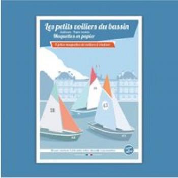 Les petits voiliers du bassin Les Jouets Français 5 jolies maquettes de voiliers à réaliser