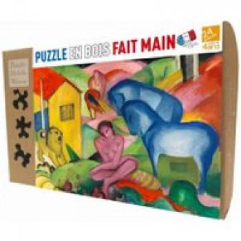 Le rêve Les Jouets Français Puzzle en bois 24 pièces fait à la main