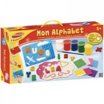 Mon alphabet Les Jouets Français Coffret pour réaliser des créations avec les lettres en plâtre