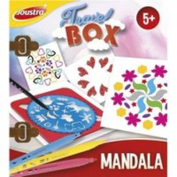 Travel box Mandala Les Jouets Français Boite de voyage pour dessiner des jolis Mandalas